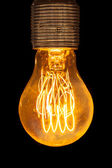 Old electric Light Bulb — Stock Photo