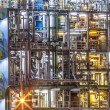 Detail of Industrial Chemical factory — Stock Photo #71158529