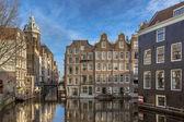 Case galleggianti da amsterdam armbrug — Foto Stock