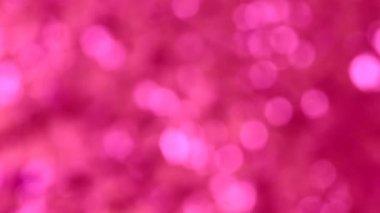 Blurred marsala bokeh moving light background — Stock Video