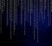Концептуальной матрице двоичного кода — Стоковое фото
