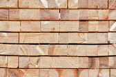 Stacked up wood — Stock Photo