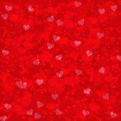 抽象的なぼやけた赤いハート — ストック写真