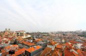 Roofs of old Porto, Portugal — Stockfoto