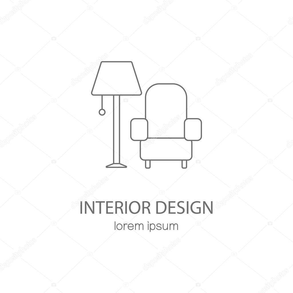 Furniture Logo Design Stock Vector Ciripasca 101573054