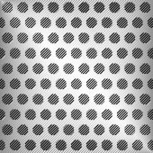 Vector abstract silver metal texture, vector background — Stock Vector