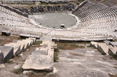 Antique theatre in Bodrum. Turkey Bodrum — Stock Photo