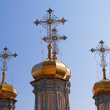 Domes of Holy Trinity Cathedral — Stock Photo #52382387