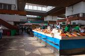 Green Bazaar in Almaty — Stock Photo