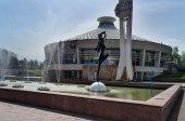 Circus in Almaty — Stock Photo