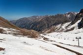 Talgar Pass. Shymbulak ski resort — Stockfoto