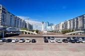 View of Astana modern city — Foto Stock