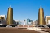 View of Astana modern city — Stock Photo