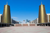 View of Astana modern city — Stock Photo