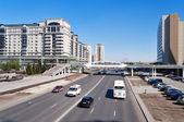Op de straat in Astana — Stockfoto