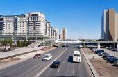 Sulla strada a Astana — Foto Stock