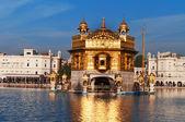 Golden Temple in Amritsar. India — Stockfoto