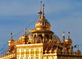 Roof of Golden Temple in Amritsar. India — Stock Photo