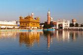 Golden Temple in Amritsar. India — Stock Photo