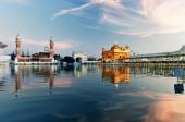 Golden Temple in the evening. Amritsar. India — Stock Photo