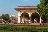 Diwan I Am, Hall of Public Audience in Red Agra Fort — Stock Photo