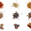 Set of different spices — Stock Photo #67519641