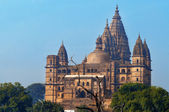 Chaturbhuj Temple at morning. Orchha. — Stock Photo