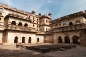 Raj Mahal palace in Orchha  — Stock Photo