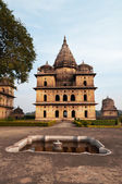 Group of Cenotaphs in Orchha — Fotografia Stock