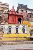 Ahilya Bai Ghat in Varanasi — Stockfoto