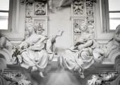 Baroque architecture in Palermo, Sicily — Stock Photo