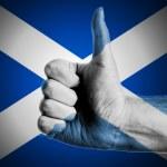 Thumbs Up Scotland — Stock Photo #52991447