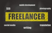 Freelancer — Stock Photo