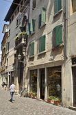Sokak, bassano del grappa — Stok fotoğraf