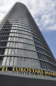 Hotel Eurostars Madrid — Stock Photo