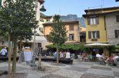 Square in Malcesine — Stock Photo