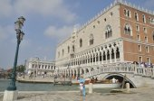 The Doge Palace in Venice — Stok fotoğraf