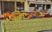 Meyve durak — Stok fotoğraf