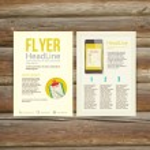 Abstract Brochure Flyer design, checklist — Stock Vector #62954765