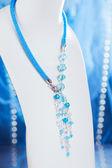 Pärlor, handgjorda, pärlor, vacker, dekoration, — Stockfoto
