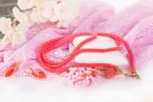 Beads, Hand Made, beads, beautiful, decoration, — Stock Photo
