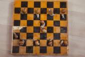 Snails, chess, game — Foto de Stock
