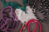 Fashion jewelry, beads, decorations — Foto Stock