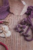 Fashion jewelry, beads, decorations — Stock Photo
