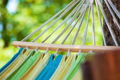 Beautiful colorful hanging chari — Stock Photo