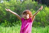 幸せな女の子 — ストック写真