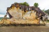 Sandsten klippa — Stockfoto