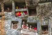 Traditionellen Begräbnisstätte in Tana Toraja — Stockfoto