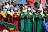 Timkat celebration in Ethiopia — Stock Photo
