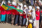 Viering van timkat in ethiopië — Stockfoto
